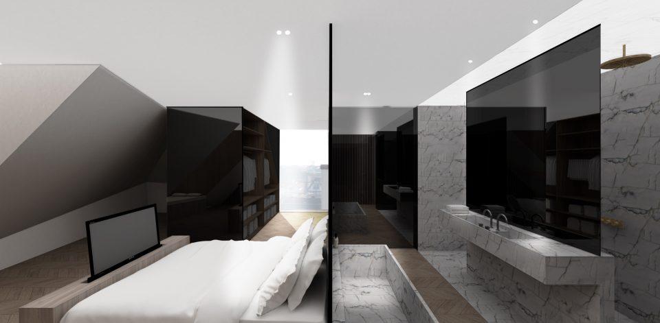 Interieurinrichting duplex-penthouse - Verhamme + De Vel Architecten ...